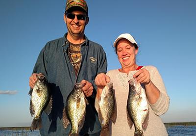Okeechobee City Crappie Fishing