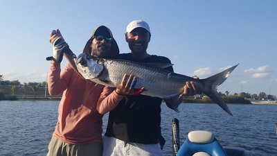 Miami Freshwater Tarpon Fishing