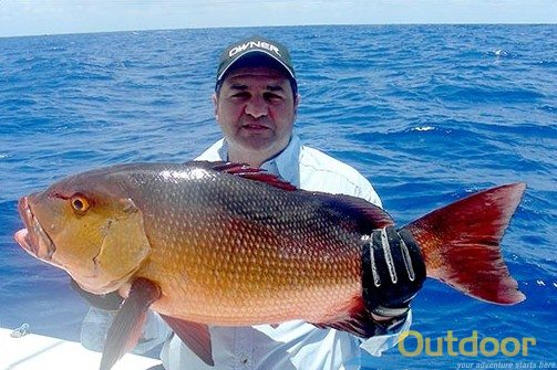 Naples Offshore Fishing Red Snapper
