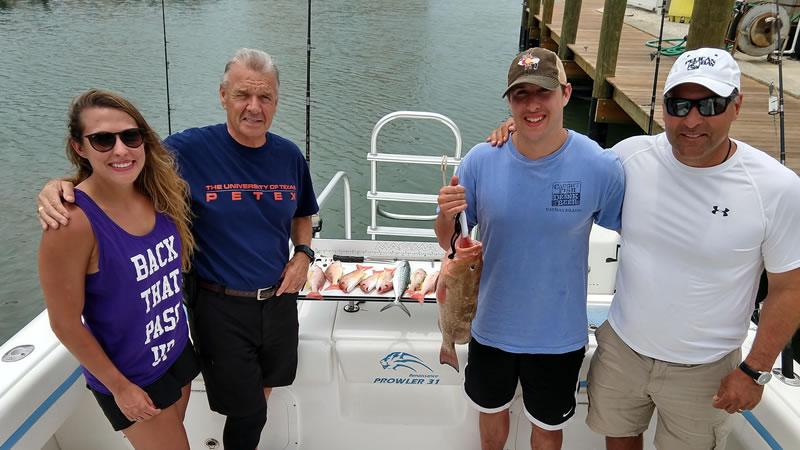 Naples Snapper Fishing Charter