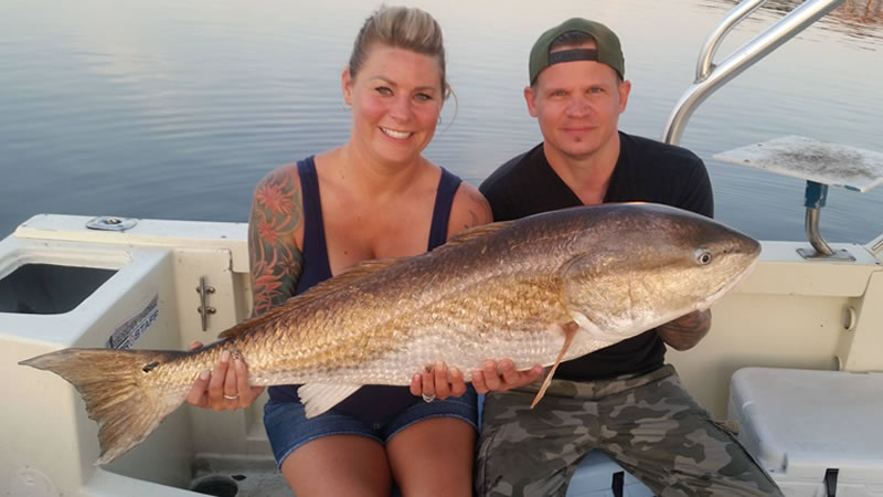 New Smyrna Redfish Fishing