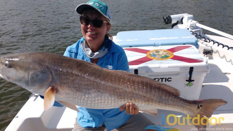 Family Redfish Fishing Charter 2