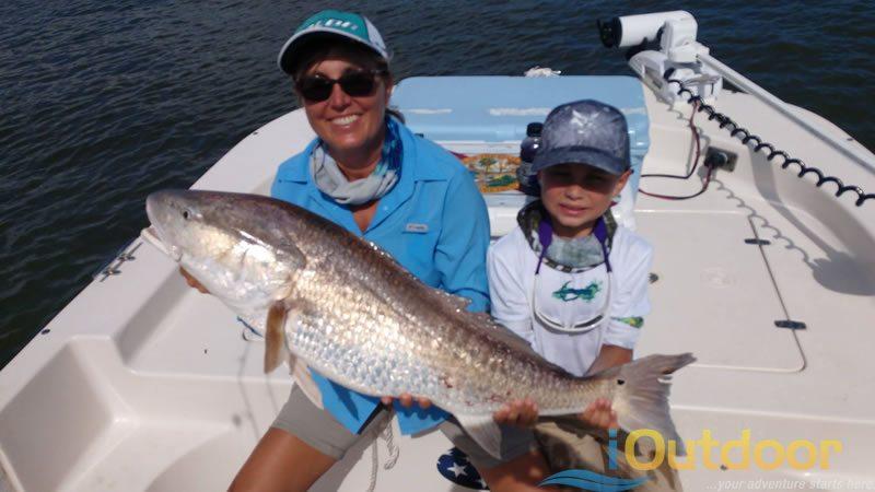Family Redfish Fishing Charter 3