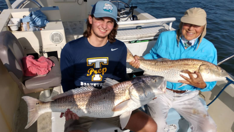 Over Sized Redfish Fishing Charter 2