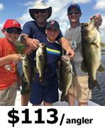 Kissimmee Bass Fishing Charters