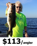 Titusville Bass Fishing Charters