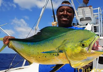 Deep sea saltwater fishing
