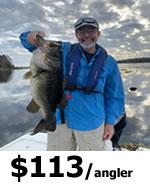 Harris Chain of Lakes Fishing in Florida