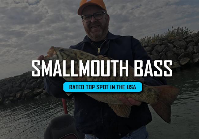Lake Erie Smallmouth Bass Charters