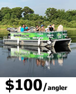 Kissimmee Pontoon Fishing Charters
