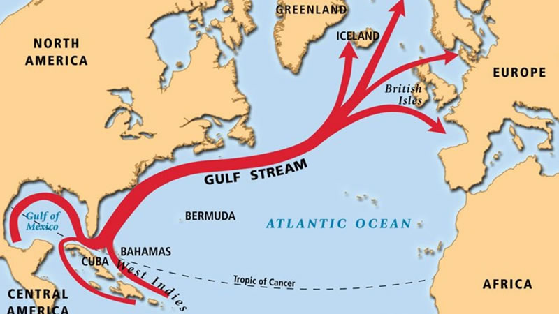 Gulf Stream in Florida