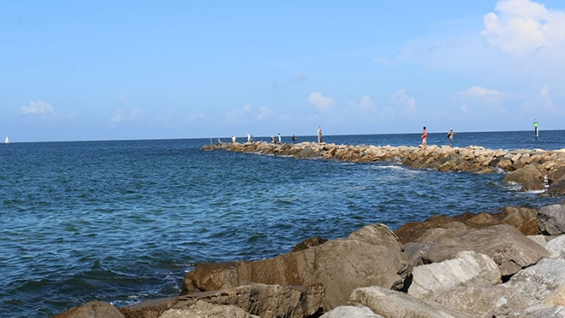 Jetties in Florida