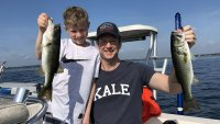 First Florida Bass Fishing