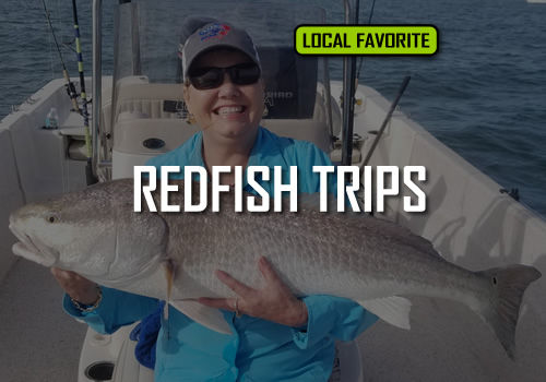 NEW ORLEANS REDFISH TRIPS