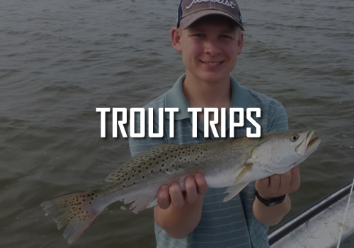 New Orleans Trout Fishing Trips