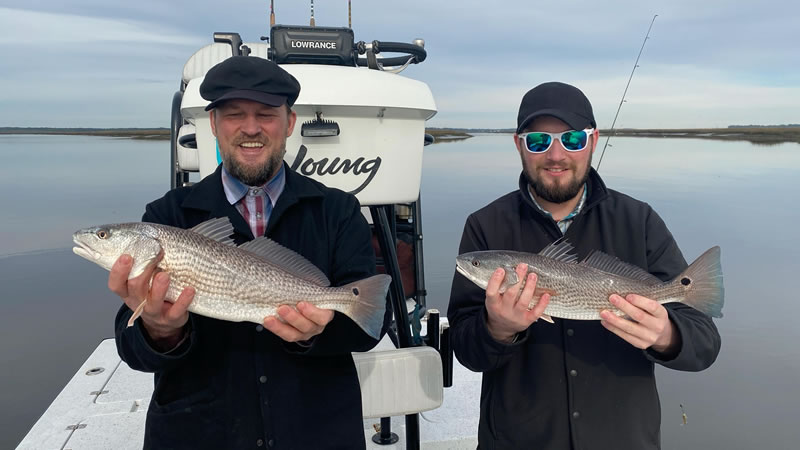 February Amelia Island Fishing