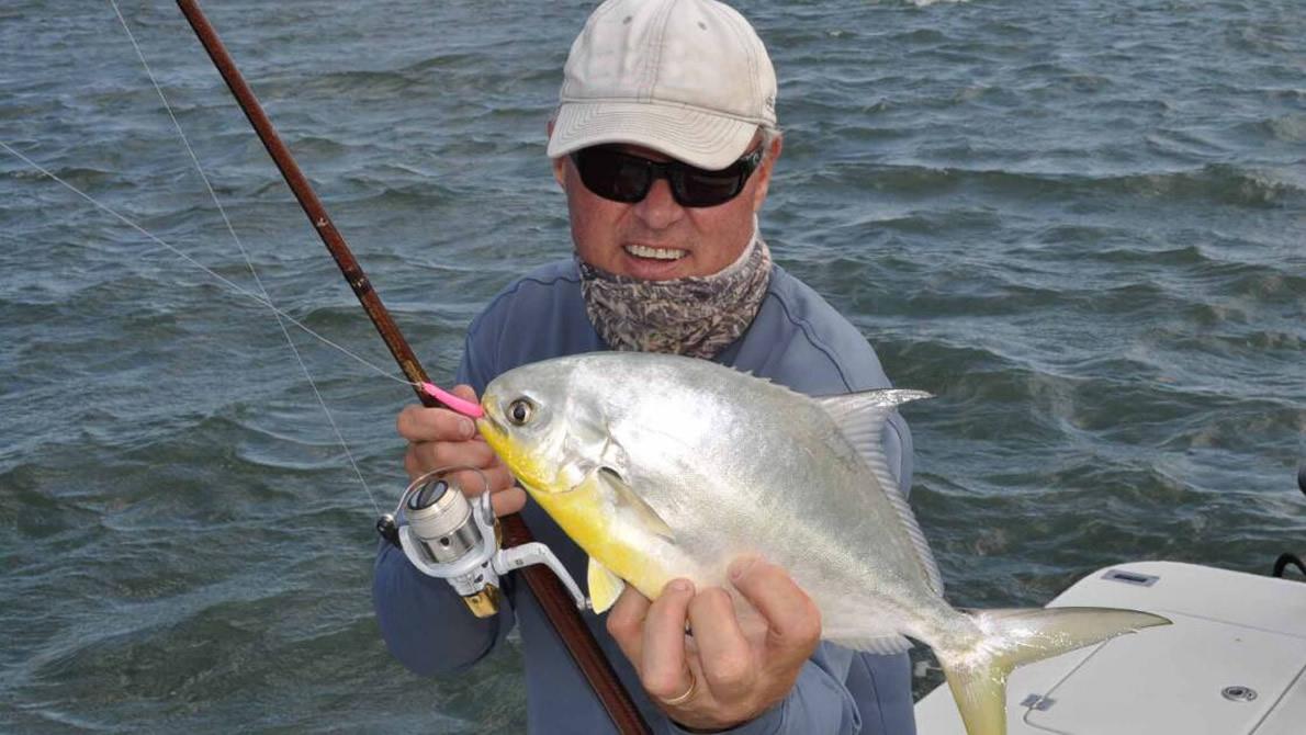 Indian River Lagoon Pompano Fishing
