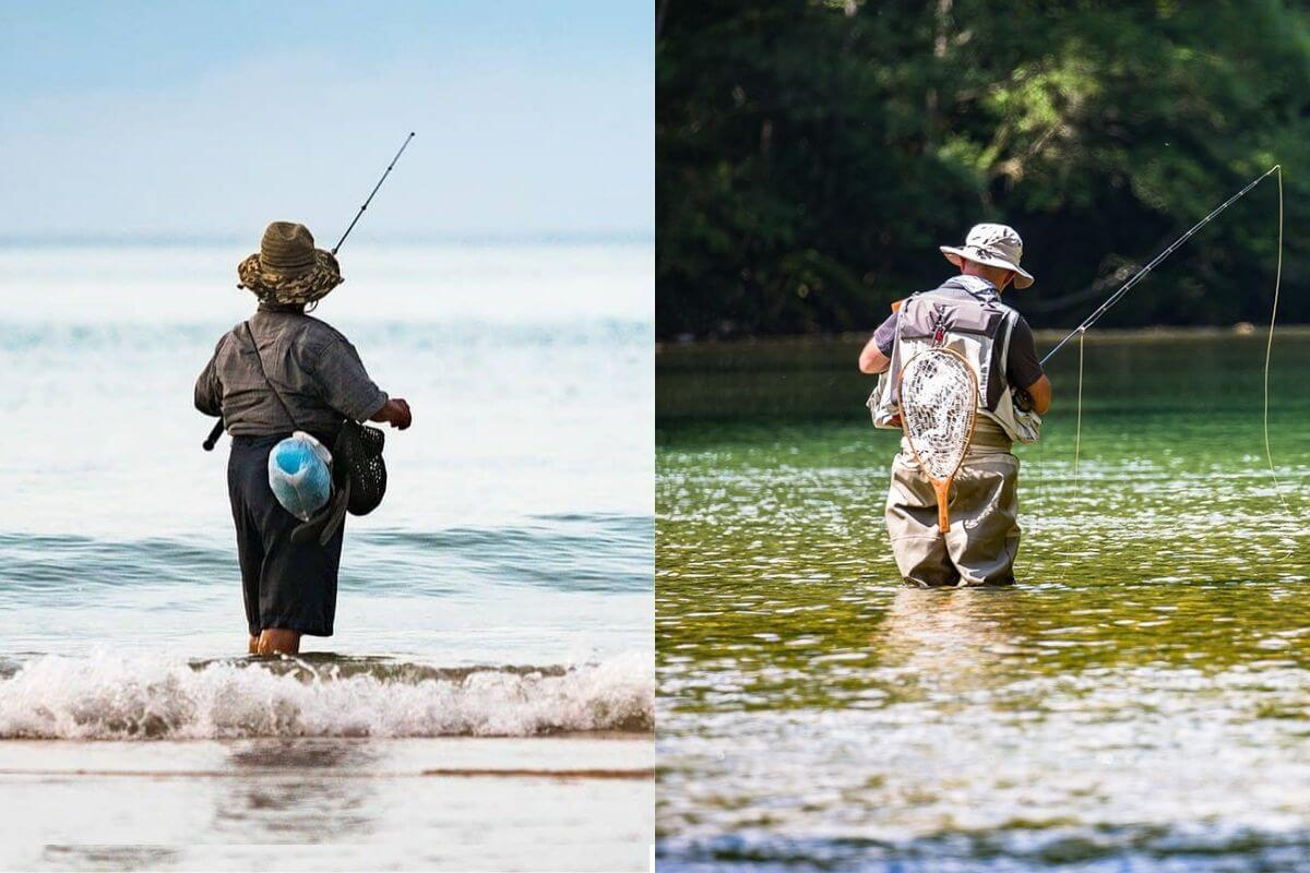 Freshwater Fishing vs. Saltwater Fishing