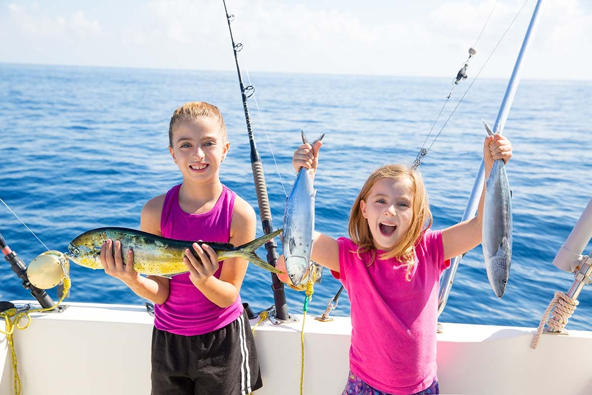 What to Remember When Taking Kids Deep-Sea Fishing
