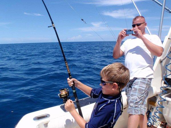 Kids Deep-Sea Fishing Trip