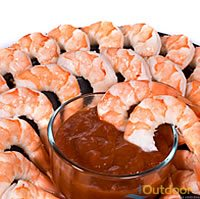 Shrimp Cocktail Platter for Fishing Catering Cocoa Beach Florida