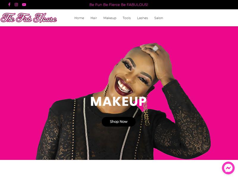 The Fab House Salon Website