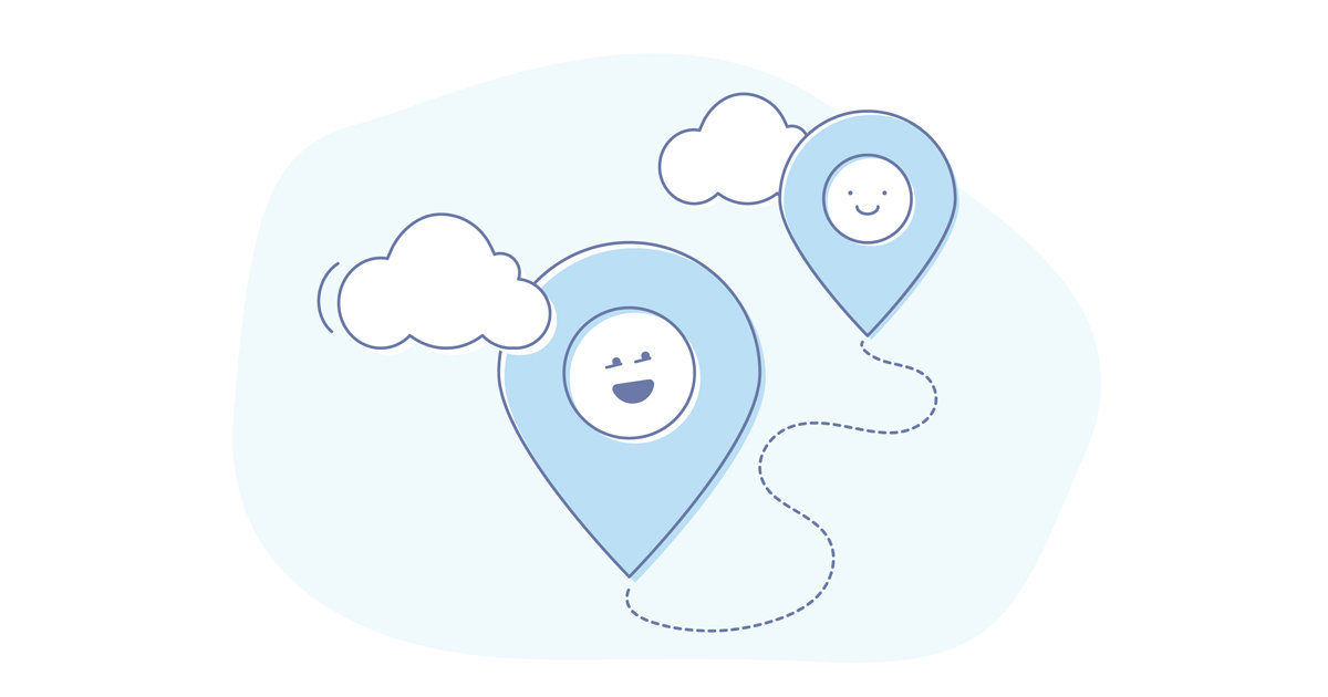 location-based push notifications