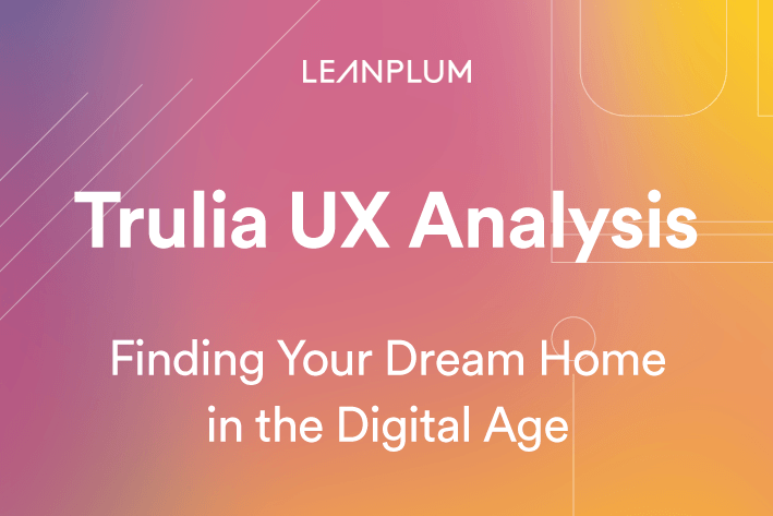 Trulia App UX Analysis