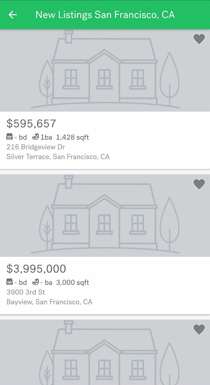 Trulia App UX Glitch