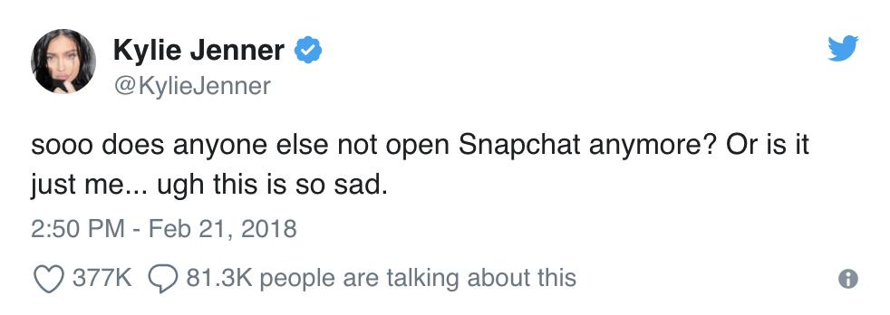 Snapchat App Ux Tweet