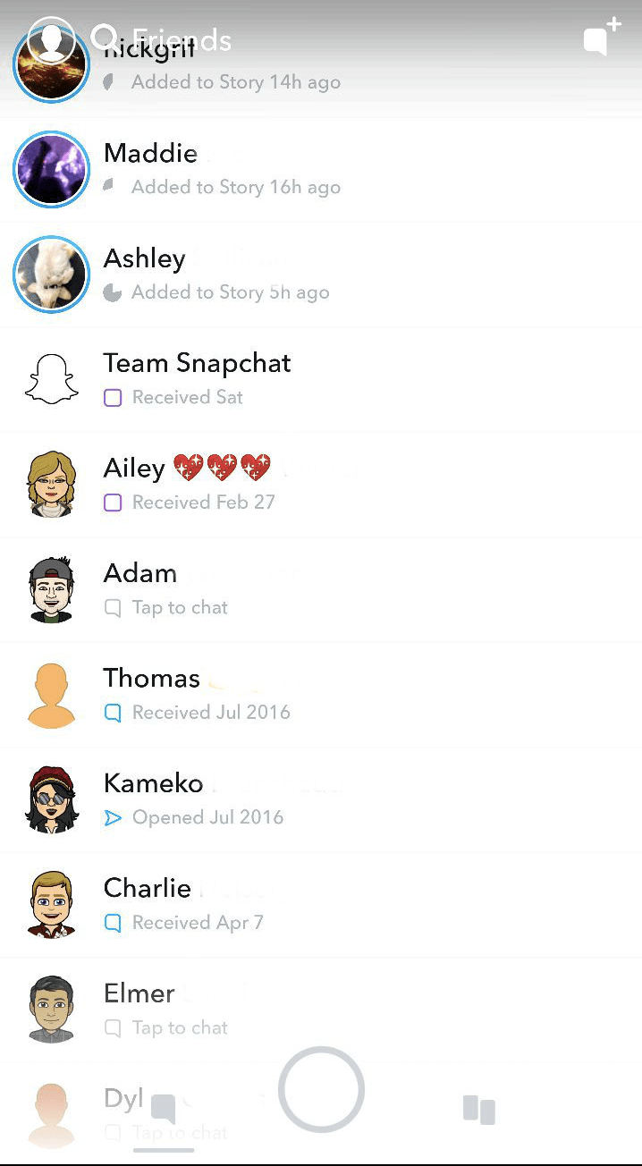 app engagement snapchat updates