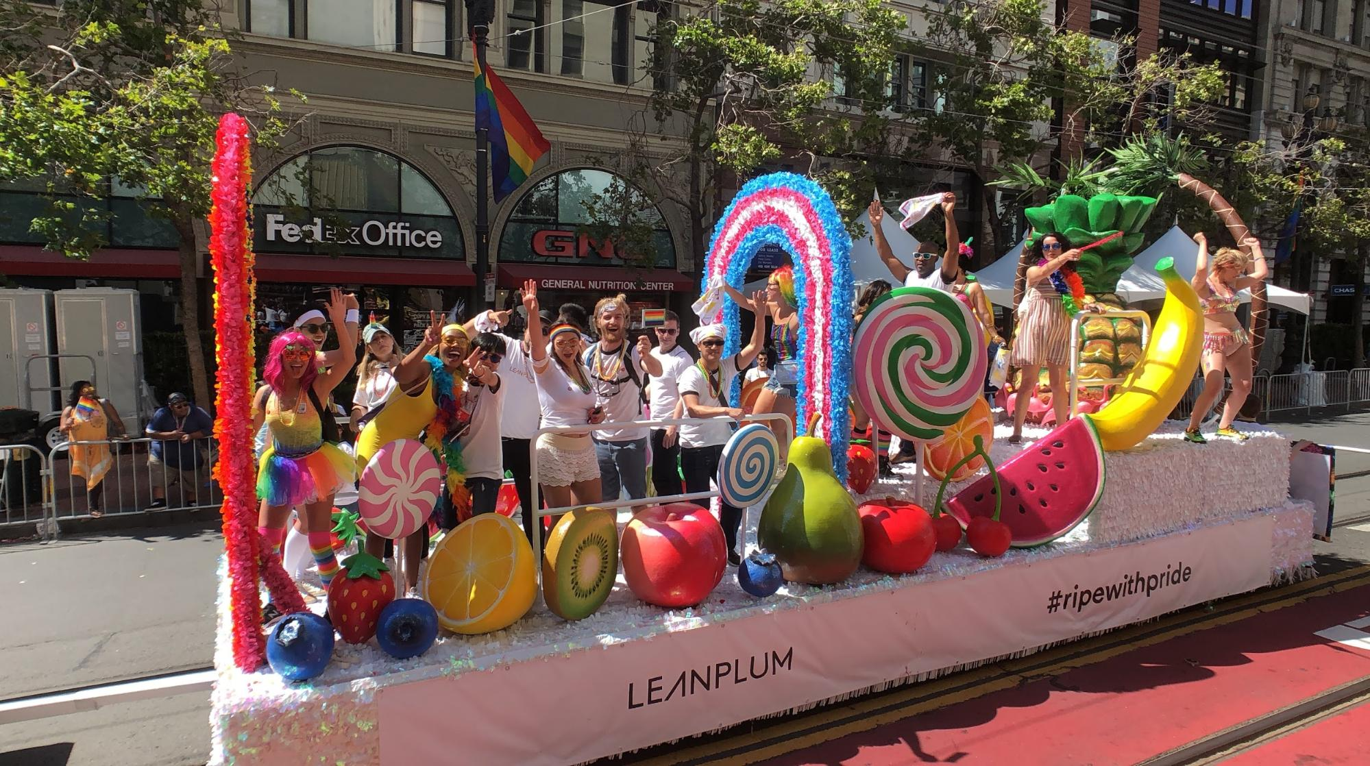 leanplum sf pride parade