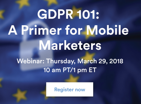 Email subject lines: GDPR webinar creative