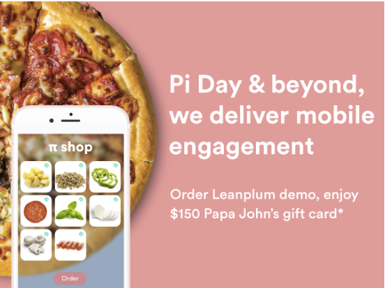 Email subject lines: Pi Day pizza creative