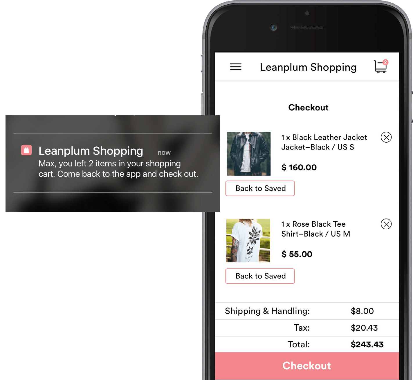 Real-Time Marketing cart abandonment