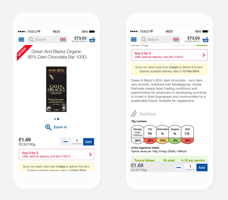 retail app cart conversions