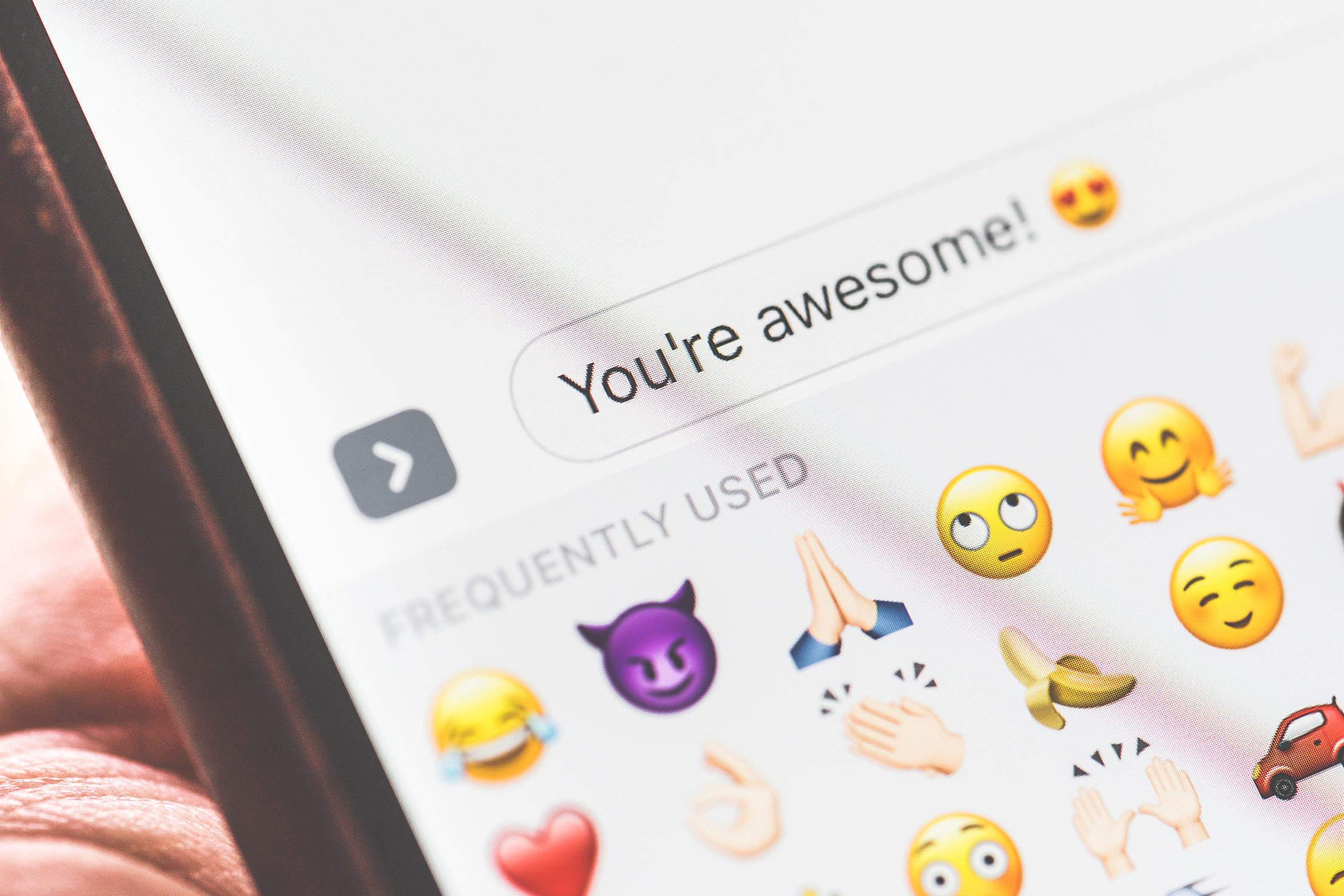 emoji push notifications