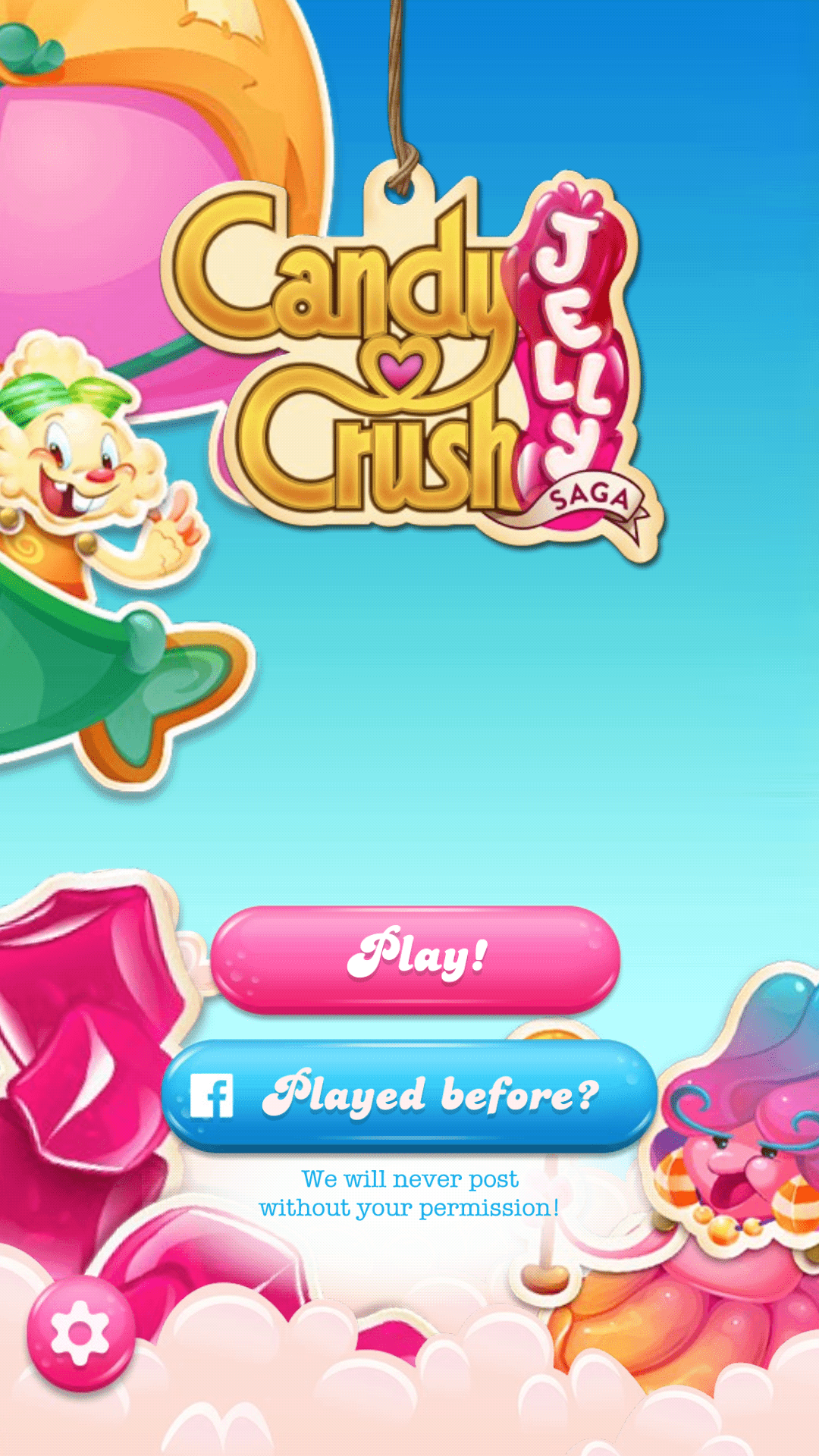 new users mobile gaming candy crush