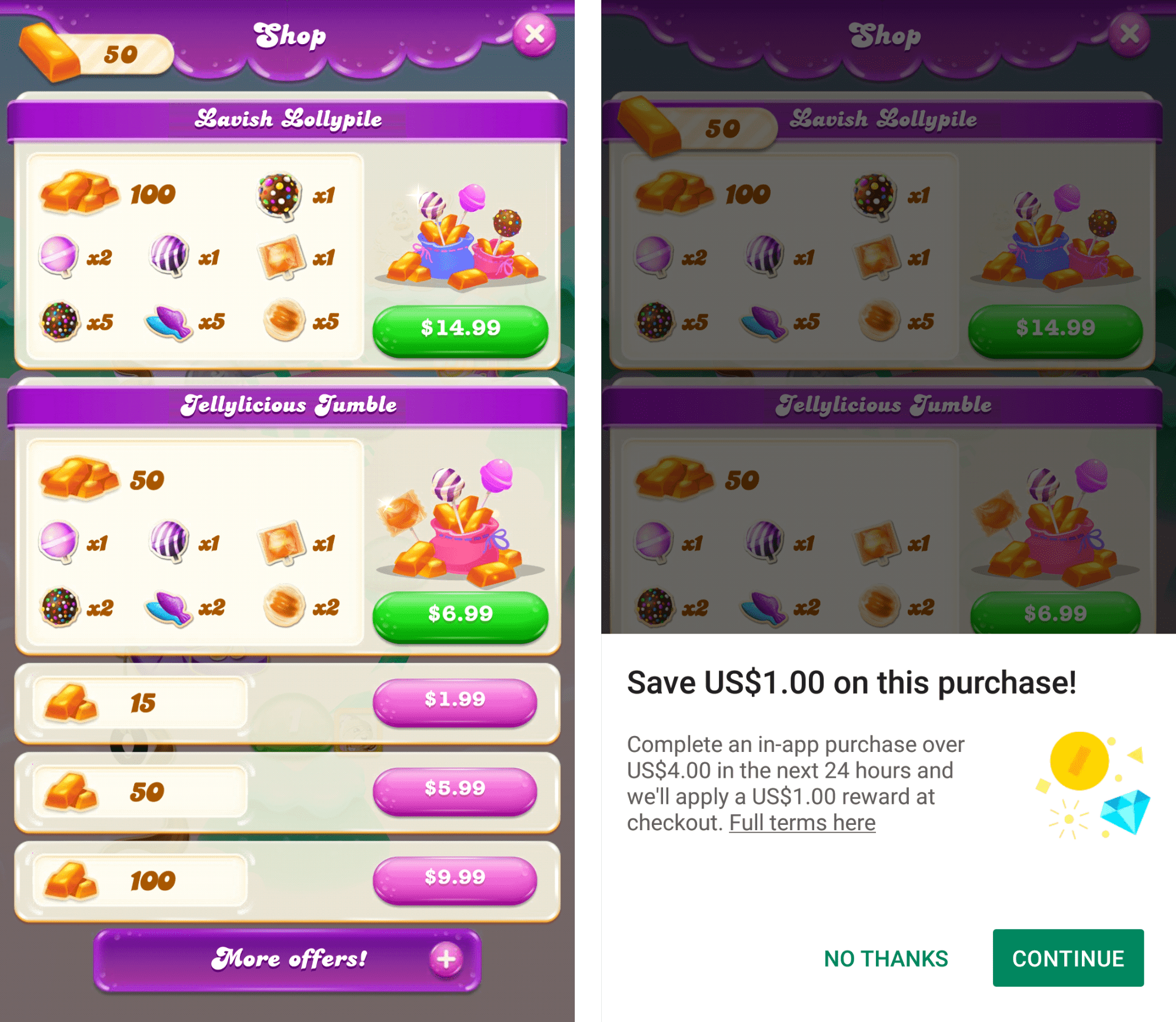 app monetization candy crush