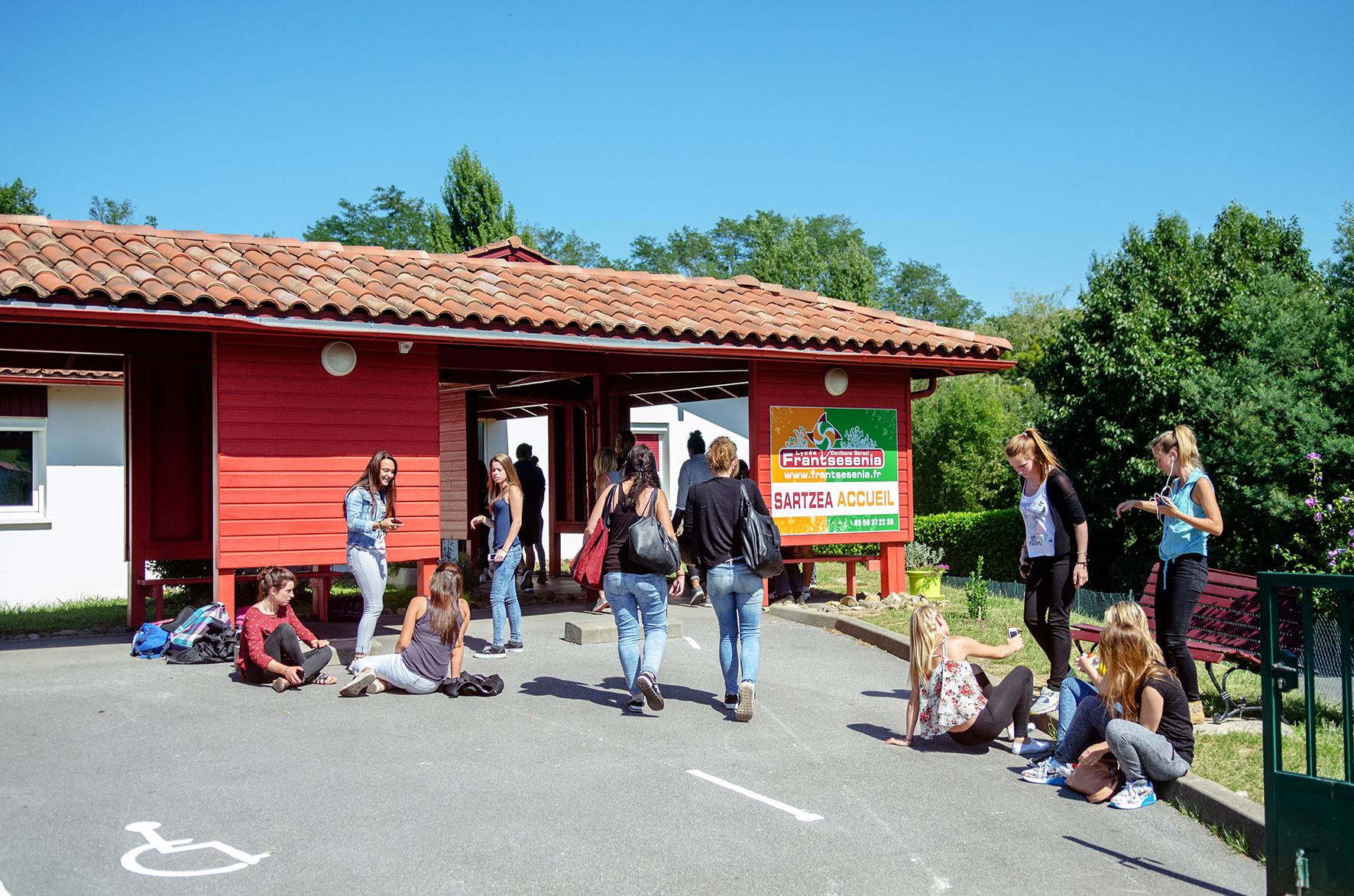 Lycée Frantsesenia - Etudiants