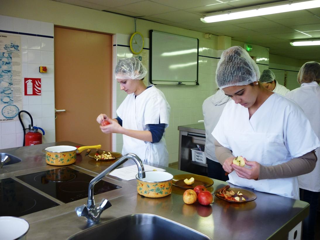 Lycée Sainte Elisabeth - Cuisine