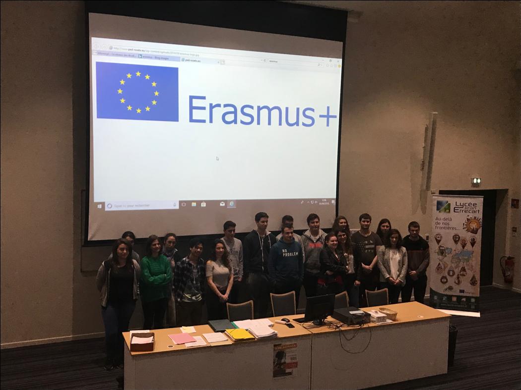 Lycée Errecart - Erasmus