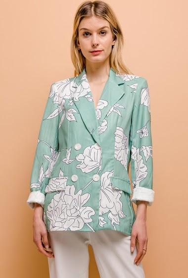 Silky blazer
