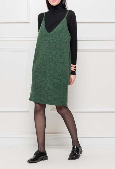 Knit dress (sold without the top)