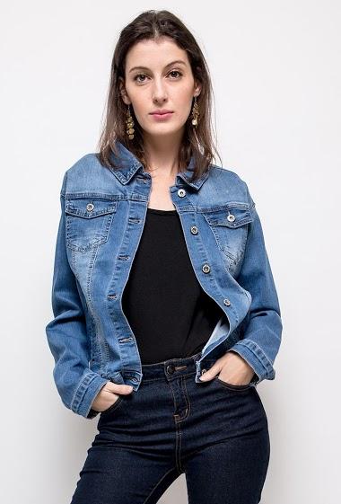 Veste basique en jean