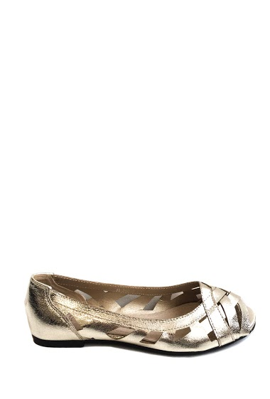 ANOUSHKA (SHOES) ballerine aperte iridescenti CIFA FASHION