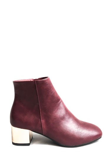 ANOUSHKA (SHOES) ankle boots with golden heels CIFA FASHION