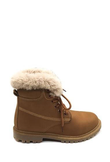 ANOUSHKA (SHOES) stuffed ankle boots CIFA FASHION