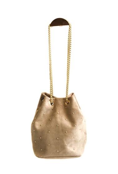 ANOUSHKA (SACS) suede studded purses CIFA FASHION