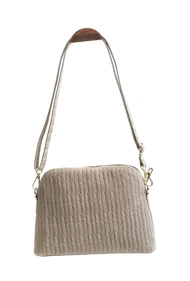ANOUSHKA (SACS) braided printed leather bag CIFA FASHION